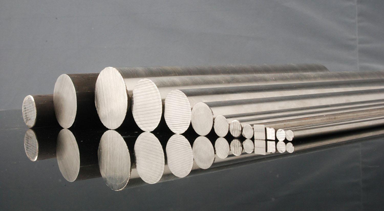 Diameter forged titanium rod